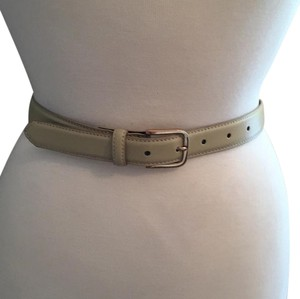 American Apparel Leather Belt