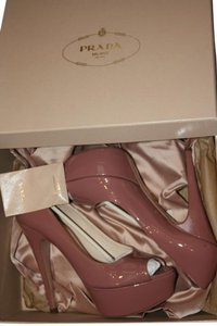 Prada Blush Rose Pumps
