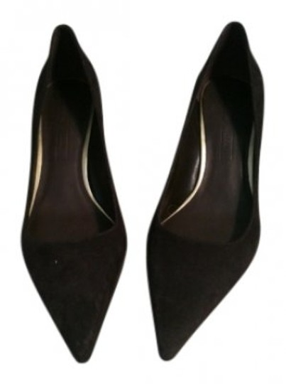 Antonio Melani Brown suede Pumps
