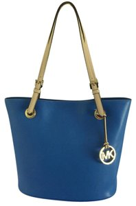 Michael Kors 38t6yttt2l Pet And Smoke Free Tote in Blue