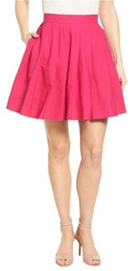 MICHAEL Michael Kors Mk Pink Pleated Mini Skirt GERANIUM