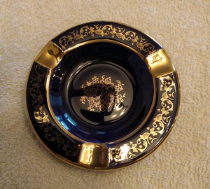 Vintage Limoges France Porcelain Ashtray