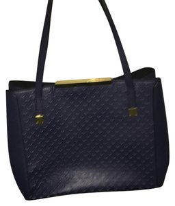 J.Crew Satchel in Navy blue