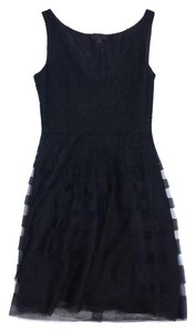 Jill Stuart short dress Black Lace Sleeveless on Tradesy