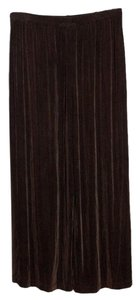 Chico's Stretchy Knit Wide Leg Capris Brown