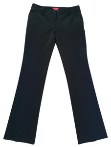 Prada Nylon Size 42 Straight Pants Black