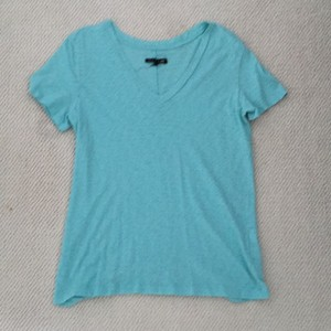 Rag & Bone T Shirt Aqua