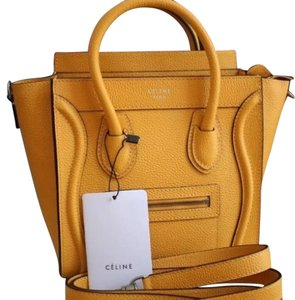 Céline Tote in Yelllow