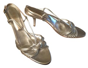 Claudia Ciuti Strappy silver Sandals