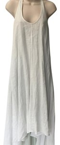 Natural white with ligth gray underlay Maxi Dress by Diane von Furstenberg