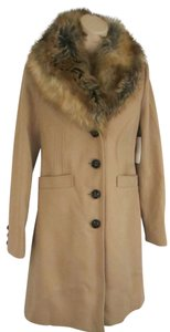 Victoria's Secret Coco_trade Faux Fur Trench Pea Coat