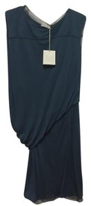 Reed Krakoff Draped Silk Silk Asymmetrical Dress