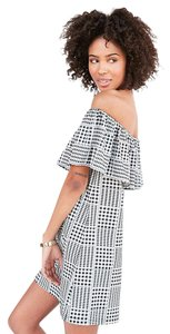 Cooperative short dress Black & White gingham Urban Outfitters Flirty on Tradesy