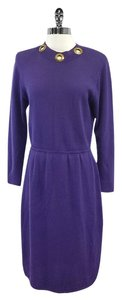 St. John short dress Purple Knit on Tradesy