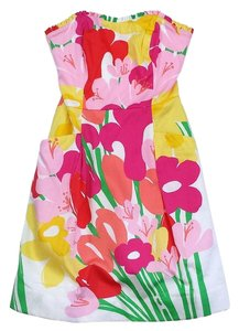 Lilly Pulitzer short dress Sweetheart Strapless Cotton on Tradesy