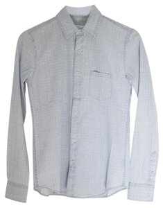 JOE'S Jeans Unisex Denim Shirt Button Down Shirt light blue