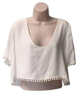 For Love & Lemons Top Natural white