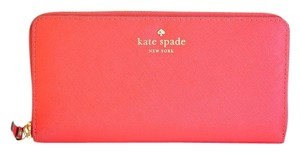 Kate Spade Saffiano Leather Zip-Around Wallet