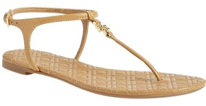 Tory Burch Leather Like New Gently Used Sand Sand Leather Sandals