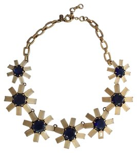 J.Crew Collared Flowered Necklace