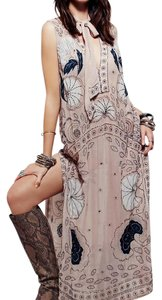 Sand combo Maxi Dress by Free People