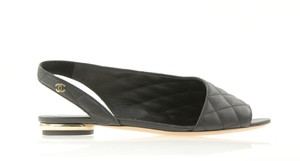 Chanel New Slip Classic Look Black Flats
