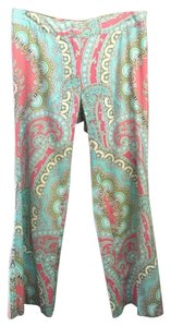 Trina Turk Straight Pants multi paisley