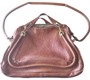 Chloé Satchel in Cognac Brown