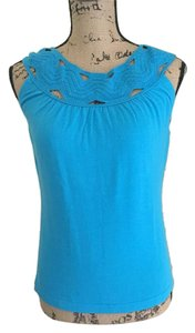 Banana Republic Top Bright blue