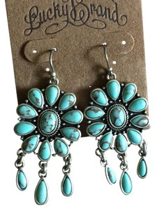Lucky Brand Turquoise Drop Flower Petal