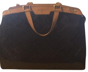Louis Vuitton Satchel in Dark Burgandy