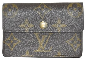Louis Vuitton Louis Vuitton Monogram Canvas Porte Monnaie Coin Wallet
