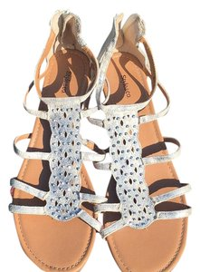 Style & Co silver, light brown Sandals