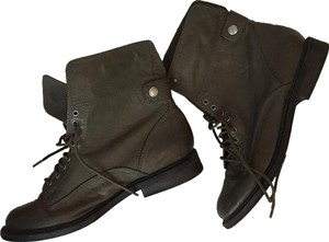 Lucky Brand Olive green Boots