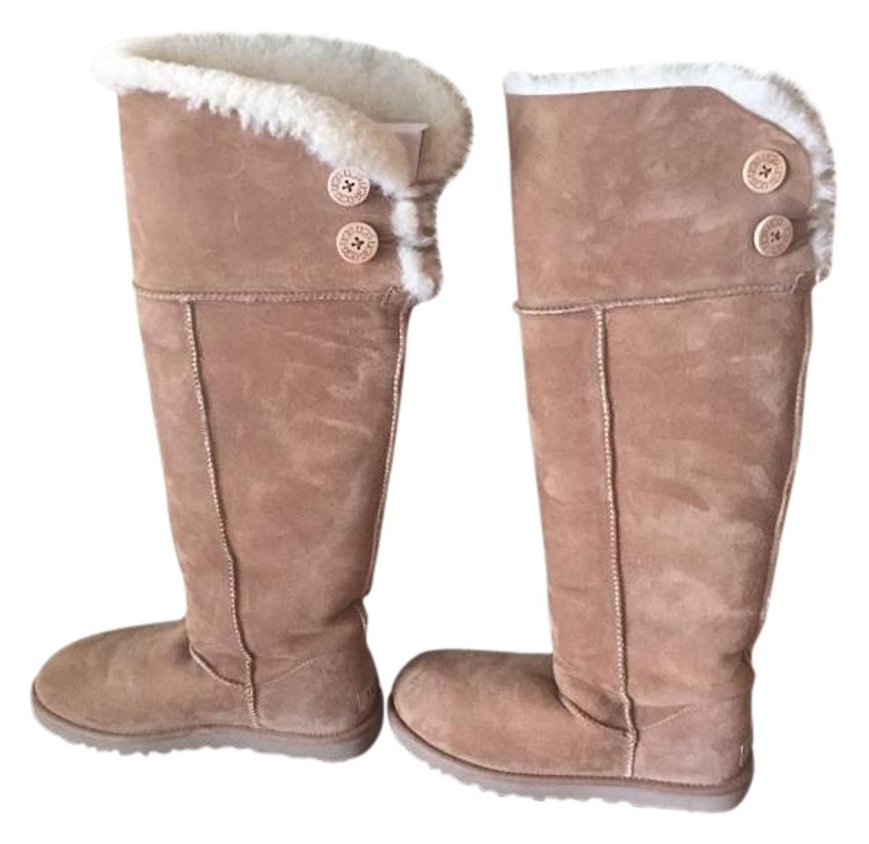 78b68765148 UGG Australia Camel Ugg(R) Bailey Button Over-the-knee Boots/Booties Size  US 8 Regular (M, B)