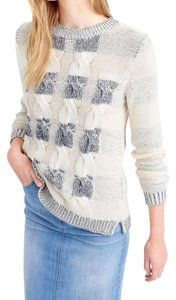 J.Crew Marled Cotton Size Xl Free Shipping Crew Neck Sweater