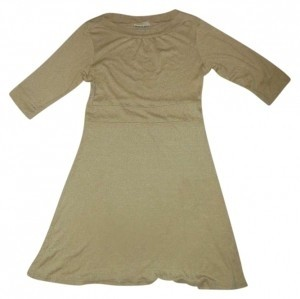 Michael Stars short dress Camel T-shirt Shimmery on Tradesy