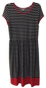 Shelby & Palmer short dress Navy, Red & White on Tradesy