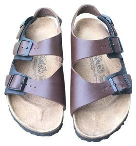 Birkenstock Black & Brown Sandals