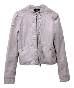 H&M Moto Quilted Motorcycle Jacket