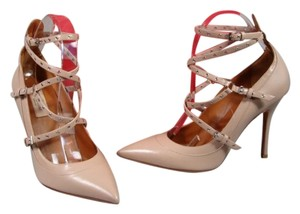 Valentino New Point Toe Beige Pumps