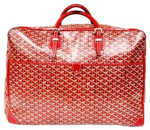 Goyard St Louis Tote Case Saigon Gm Red Travel Bag
