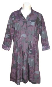 Gap short dress Purple Camo Longsleeve on Tradesy