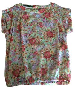 Zara Top Flower print