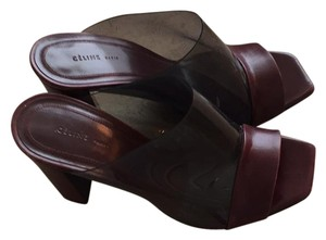 Cline Burgundy Mules