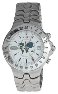 Ebel RARE Ebel Men's Sportwave Meridian GMT Automatic Watch E9122641