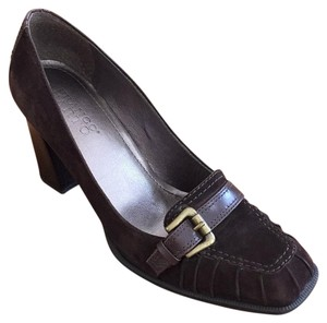 Franco Sarto Dark Brown Pumps