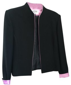 Kasper Timeless Black with pink Blazer