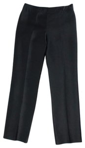 Chetta B. by Sherrie Bloom and Peter Noviello Straight Silk Career Dress Straight Pants Black