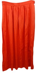 INC International Concepts Missoni Orange Maxi Skirt